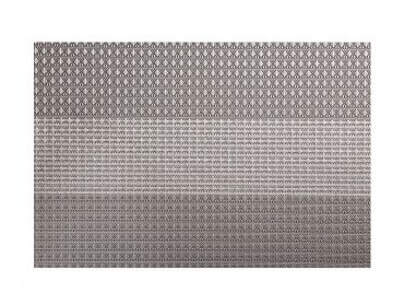 Table Accents Woven Lurex Placemat 45x30cm Taupe