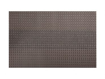Table Accents Woven Lurex Placemat 45x30cm Grey