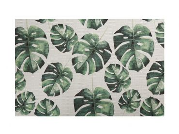 Table Accents Foliage Placemat 45x30cm Small Monstera