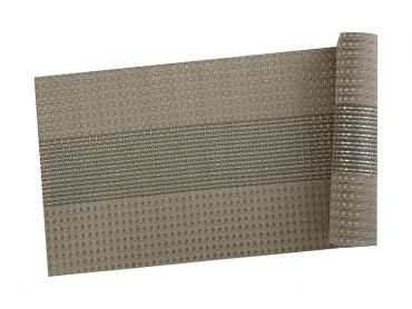 Table Accents Woven Lurex Runner 30x150cm Taupe