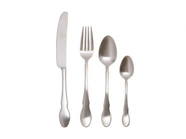 Chester Cutlery Set 16 Piece Silver