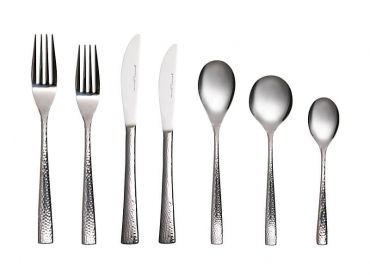 Wayland Hammered Cutlery Set 42pc Gift Boxed