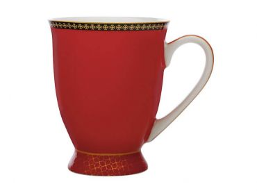 Teas & C's Contessa Classic Footed Mug 300ML Red