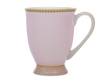 Teas & C's Contessa Classic Footed Mug 300ML Pink