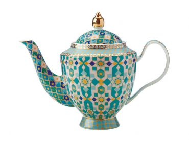 Teas & C's Kasbah Teapot with Infuser 500ML Mint Gift Boxed