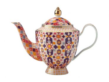 Teas & C's Kasbah Teapot with Infuser 500ML Rose Gift Boxed