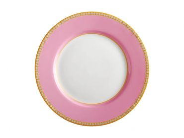 Teas & C's Classic Rim Plate 19.5cm Hot Pink Gift Boxed