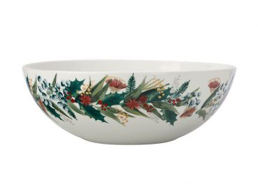 Holly Berry Serving Bowl 28cm Gift Boxed