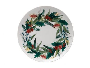 Holly Berry Plate 20cm Gift Boxed