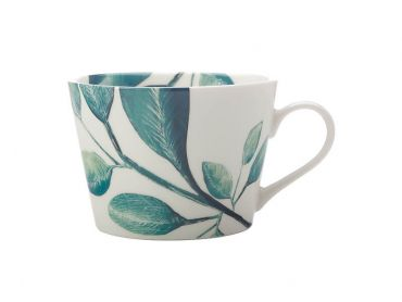 Winter Bloom Mug 450ML Jade