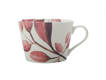 Winter Bloom Mug 450ML Raspberry