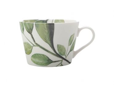 Winter Bloom Mug 450ML Olive