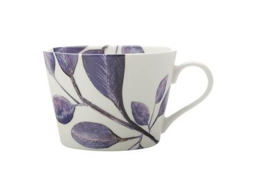 Winter Bloom Mug 450ML Violet
