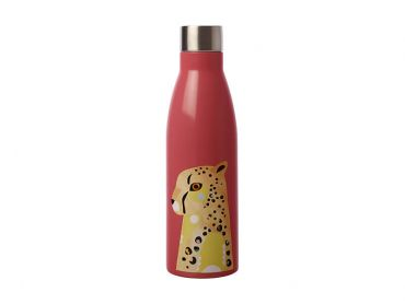 Pete Cromer Wildlife Double Wall Insulated Bottle 500ML Cheetah