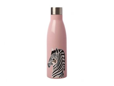 Pete Cromer Wildlife Double Wall Insulated Bottle 500ML Zebra