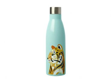 Pete Cromer Wildlife Double Wall Insulated Bottle 500ML Tiger