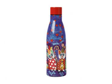 Love Hearts Double Wall Insulated Bottle 500ML Cup Cakes