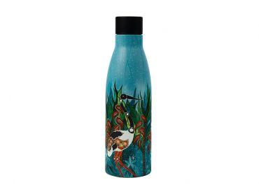 Melanie Hava Jugaig-Bana-Wabu Double Wall Insulated Bottle 500ML Jabirus Blue