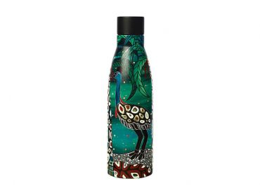 Melanie Hava Jugaig-Bana-Wabu Double Wall Insulated Bottle 500ML Cassowaries Home