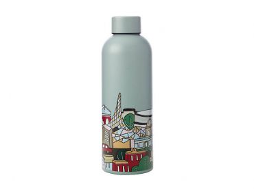Megan McKean Cities Double Wall Insulated Bottle 500ML Melbourne