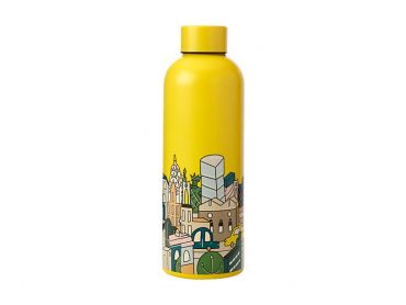 Megan McKean Cities Double Wall Insulated Bottle 500ML New York