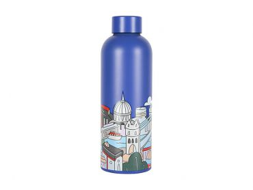 Megan McKean Cities Double Wall Insulated Bottle 500ML London