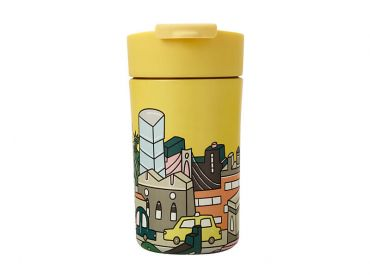 Megan McKean Cities Double Wall Insulated Cup 350ML New York