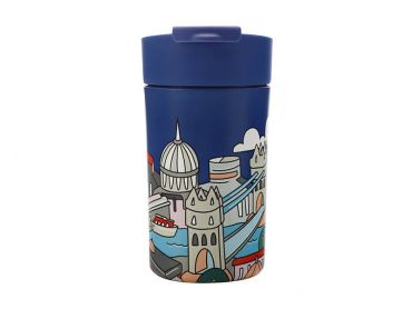 Megan McKean Cities Double Wall Insulated Cup 350ML London