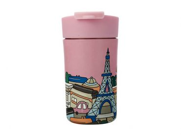 Megan McKean Cities Double Wall Insulated Cup 350ML Paris