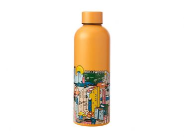 Megan McKean Cities Double Wall Insulated Bottle 500ML Los Angeles