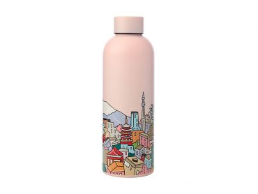 Megan McKean Cities Double Wall Insulated Bottle 500ML Tokyo