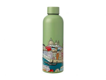 Megan McKean Cities Double Wall Insulated Bottle 500ML Venice