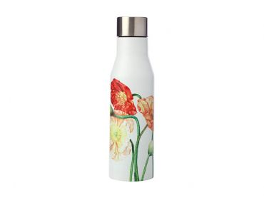 Katherine Castle Floriade Double Wall Insulated Bottle 450ML Poppies
