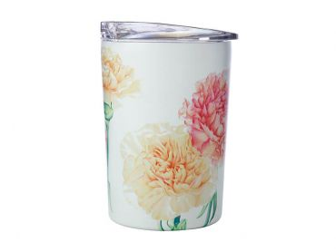 Katherine Castle Floriade Double Wall Insulated Cup 360ML Carnations