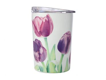 Katherine Castle Floriade Double Wall Insulated Cup 360ML Tulips