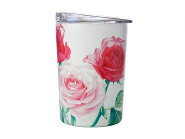 Katherine Castle Floriade Double Wall Insulated Cup 360ML Roses