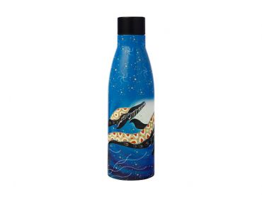 Melanie Hava Journeys Double Wall Insulated Bottle 500ML Whales