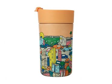 Megan McKean Cities Double Wall Insulated Cup 350ML Los Angeles