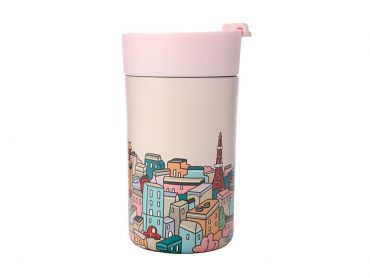Megan McKean Cities Double Wall Insulated Cup 350ML Tokyo