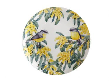 Royal Botanic Gardens Victoria Garden Friends Plate 20cm Robin Gift Boxed