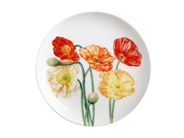 Katherine Castle Floriade Plate 20cm Poppies Gift Boxed