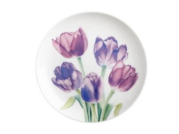 Katherine Castle Floriade Plate 20cm Tulips Gift Boxed