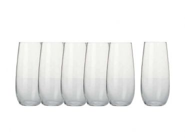Mansion Stemless Flute 230ML Set 6