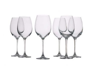 Mansion Red Wine Glasses 360ML Set 6