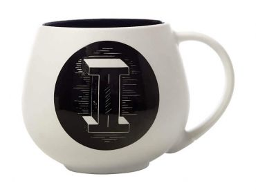 "The Letterettes Snug Mug 450ML ""I"" Gift Boxed"