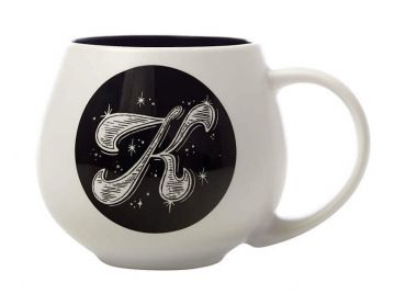 "The Letterettes Snug Mug 450ML ""K"" Gift Boxed"