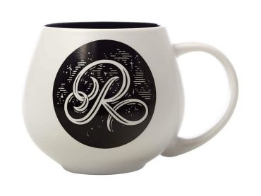 "The Letterettes Snug Mug 450ML ""R"" Gift Boxed"