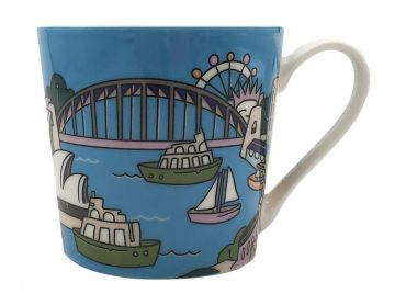 Megan McKean Cities Mug 430ML Sydney Gift Boxed