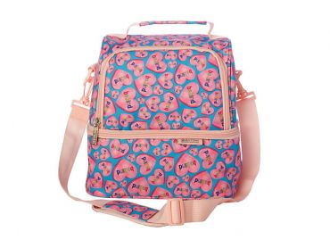 Kasey Rainbow Be Kind Insulated Lunch Bag Hearts