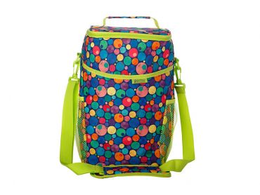 Kasey Rainbow Be Kind Insulated Picnic Cooler Bag Dots
